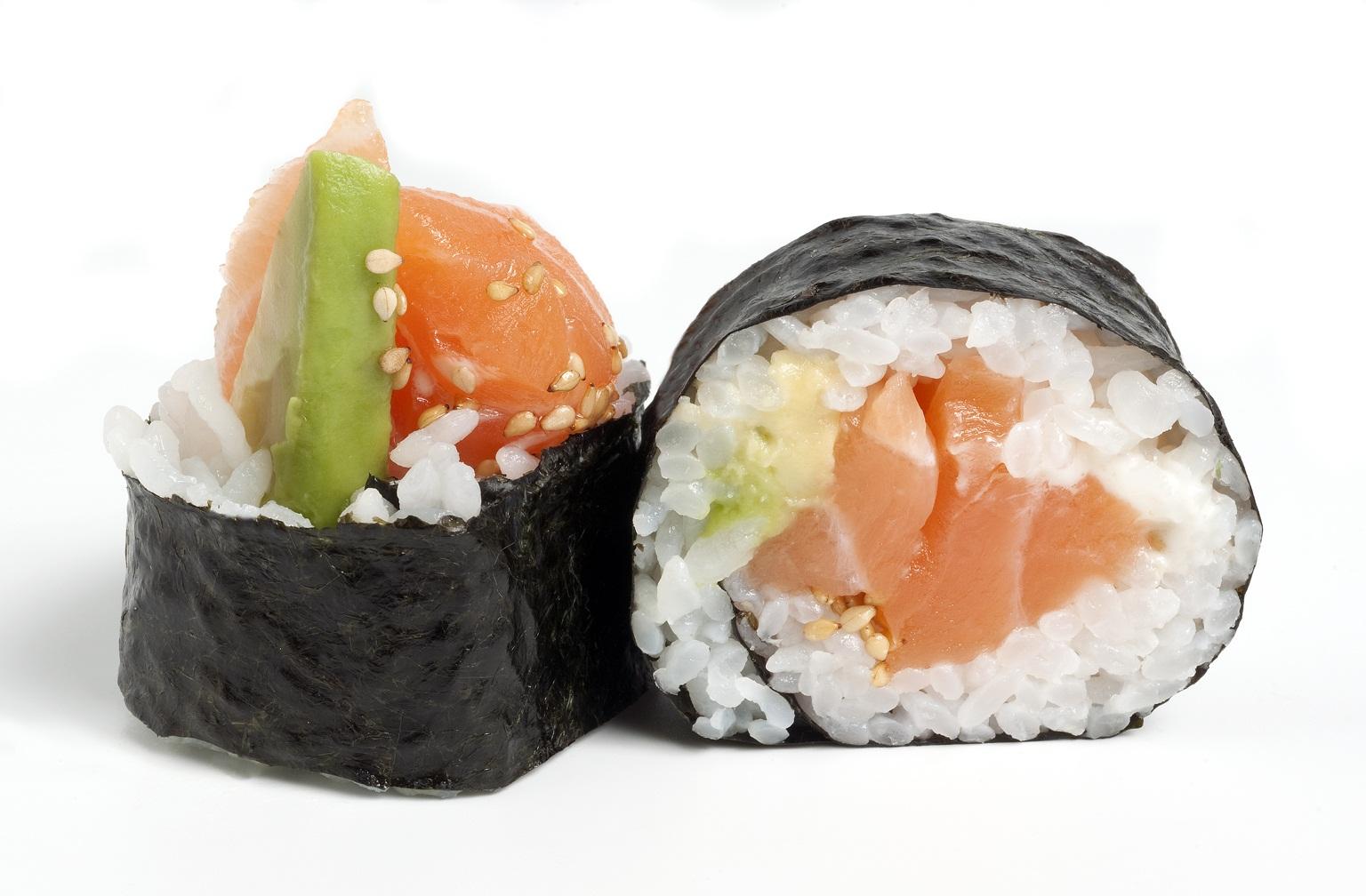 Sushibox salmón
